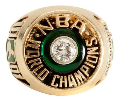 RED AUERBACHS 1981 BOSTON CELTICS NBA CHAMPIONSHIP RING