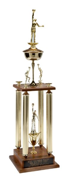"JULIUS ""DR. J"" ERVINGS 1977 NBA ALL-STAR GAME MOST VALUABLE PLAYER TROPHY"