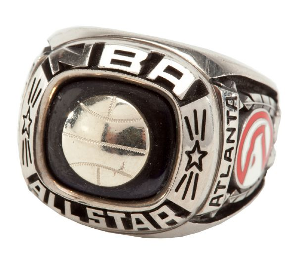"JULIUS ""DR. J"" ERVINGS 1978 NBA ALL-STAR RING"