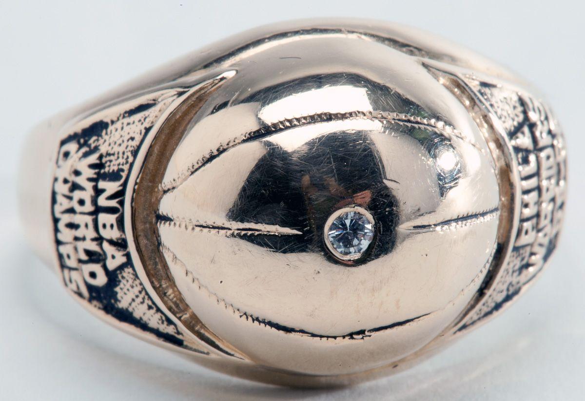 Lot Detail 1955 56 Philadelphia Warriors Nba Championship Ring