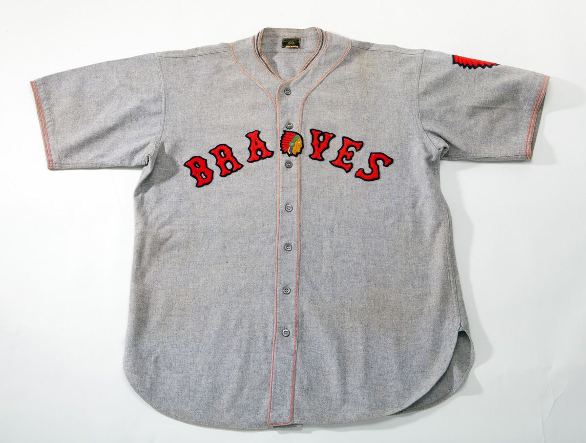 pretty nice 62351 96c1a Lot Detail - 1933-34 WALLY BERGER BOSTON BRAVES GAME WORN ...