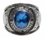 ROLLIE FINGERS 1967 SOUTHERN LEAGUE BIRMINGHAM AS DIXIE SERIES CHAMPIONSHIP RING (FINGERS LOA)