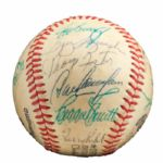 ROLLIE FINGERS 1978 NATIONAL LEAGUE ALL-STAR TEAM SIGNED BASEBALL (FINGERS LOA)