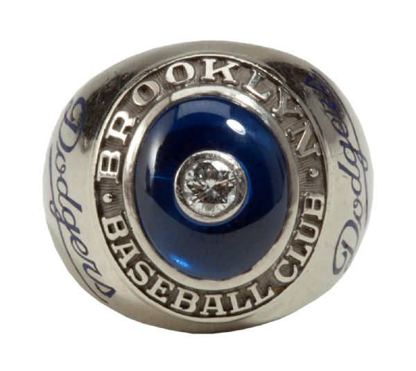 GEORGE SISLERS 1947 BROOKLYN DODGERS NATIONAL LEAGUE CHAMPIONSHIP RING (SISLER FAMILY LOA)