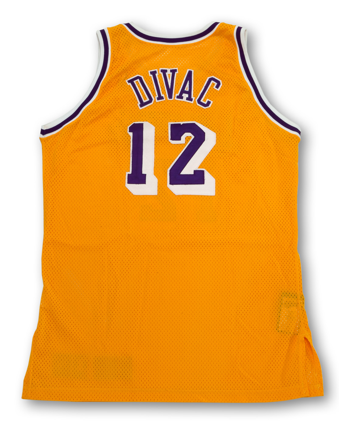 Lot Detail - 1995-96 VLADE DIVAC LOS ANGELES LAKERS GAME WORN HOME ...