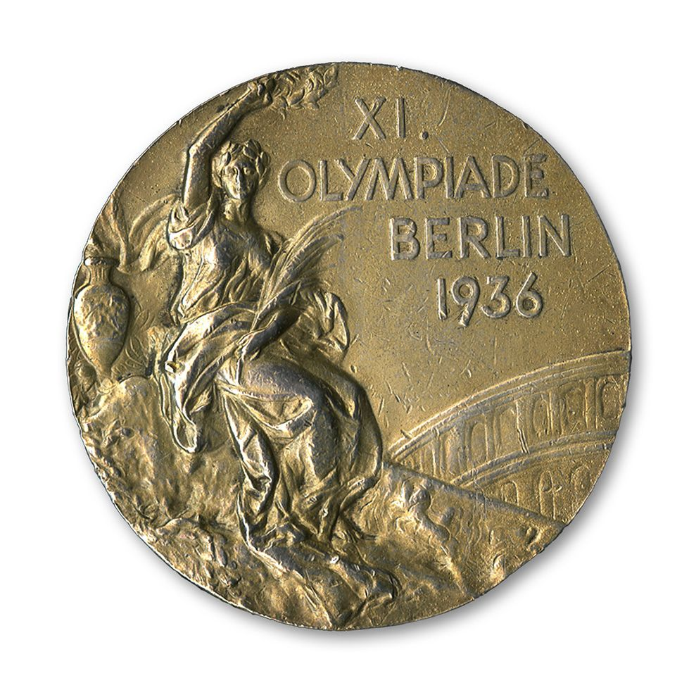 Jesse owens 1936 olympic gold medal from berlin germany from the