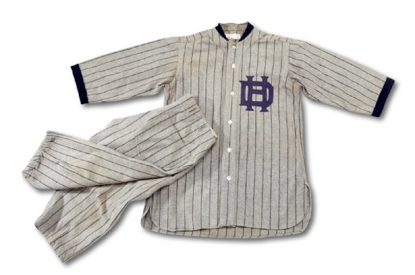 1930S HOUSE OF DAVID GAME WORN BASEBALL UNIFORM (HELMS/LA84 COLLECTION)