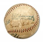 GOOSE GOSLIN SINGLE SIGNED BASEBALL  (HELMS/LA84 COLLECTION)