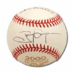"TONY GWYNNS AUTOGRAPHED COMMEMORATIVE 1,030TH CAREER HIT BASEBALL FROM 6/17/1988 ALSO SIGNED & INSCRIBED ""GLAD I COULD HELP"" BY DON SUTTON (GWYNN FAMILY LOA)"