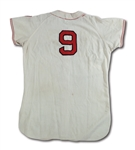 1950-51 TED WILLIAMS AUTOGRAPHED BOSTON RED SOX GAME WORN HOME JERSEY (MEARS A5.5)
