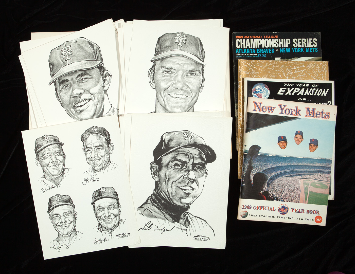 Lot Detail - 1969 WORLD CHAMPION NEW YORK METS COLLECTION