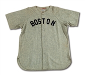 1941 DOM DIMAGGIO BOSTON RED SOX GAME WORN ROAD JERSEY (MEARS A9)