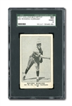 1917 COLLINS-MCCARTHY #80 ROGERS HORNSBY ROOKIE VG-EX SGC 50