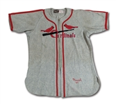 1947 STAN MUSIAL ST. LOUIS CARDINALS GAME WORN ROAD JERSEY