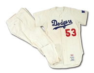 DON DRYSDALES 1969 LOS ANGELES DODGERS GAME WORN HOME UNIFORM FROM HIS FINAL SEASON (DRYSDALE COLLECTION)