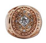 DON DRYSDALES 1965 LOS ANGELES DODGERS WORLD CHAMPIONS 14K GOLD RING (DRYSDALE COLLECTION)