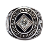 DON DRYSDALES 1963 LOS ANGELES DODGERS WORLD CHAMPIONS 14K GOLD RING (DRYSDALE COLLECTION)