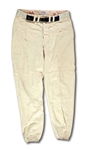 DON DRYSDALES 1966 LOS ANGELES DODGERS GAME WORN HOME PANTS (DRYSDALE COLLECTION)