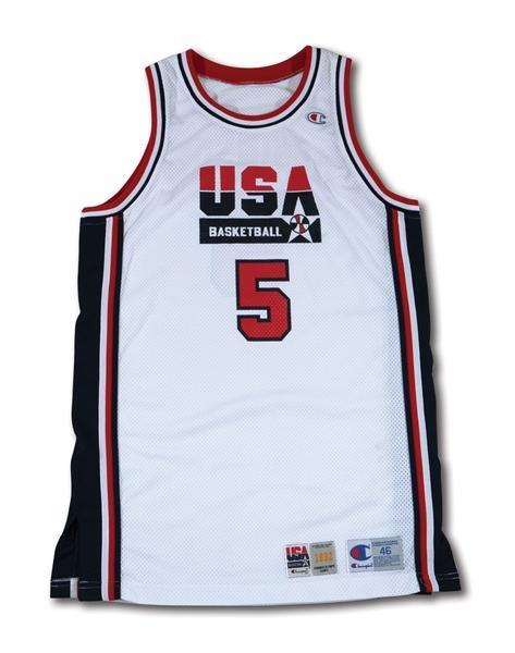 wholesale dealer 1042c 1a391 Lot Detail - 1992 DAVID ROBINSON USA BASKETBALL OLYMPIC ...