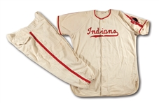 DON DRYSDALES 1954 BAKERSFIELD INDIANS (CLASS C) GAME WORN HOME UNIFORM - HIS FIRST PROFESSIONAL TEAM (DRYSDALE COLLECTION)