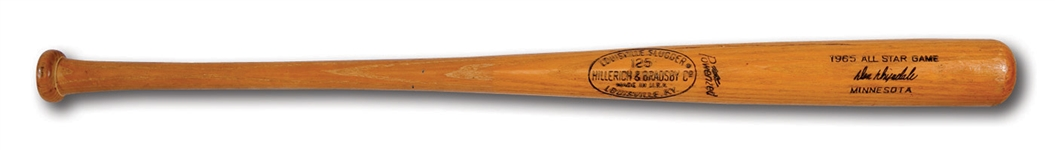 DON DRYSDALES JULY 13, 1965 ALL-STAR GAME READY LOUISVILLE SLUGGER PROFESSIONAL MODEL BAT (DRYSDALE COLLECTION)