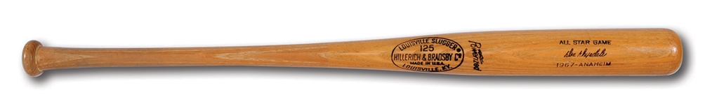 DON DRYSDALES JULY 11, 1967 ALL-STAR GAME READY LOUISVILLE SLUGGER PROFESSIONAL MODEL BAT (DRYSDALE COLLECTION)
