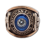 HARMON KILLEBREWS 1965 MINNESOTA TWINS AMERICAN LEAGUE CHAMPIONSHIP RING (KILLEBREW COA)