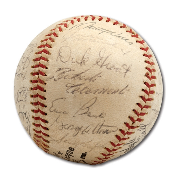 DON DRYSDALES 1962 NATIONAL LEAGUE ALL-STAR TEAM SIGNED BASEBALL (DRYSDALE COLLECTION)
