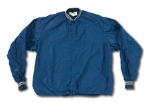 DON DRYSDALES CIRCA 1960S LOS ANGELES DODGERS GAME WORN WINDBREAKER JACKET (DRYSDALE COLLECTION)
