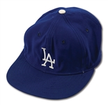 DON DRYSDALES EARLY-MID 1960S LOS ANGELES DODGERS GAME WORN CAP (DRYSDALE COLLECTION)