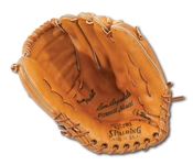 DON DRYSDALES CIRCA LATE 1960S SPALDING PROFESSIONAL MODEL FIELDERS GLOVE (DRYSDALE COLLECTION)