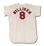1967 BOB MILLIKEN ST. LOUIS CARDINALS (WORLD CHAMPIONSHIP SEASON) GAME WORN HOME COACHS JERSEY (DELBERT MICKEL COLLECTION)