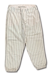 1965 CLETE BOYER NEW YORK YANKEES GAME WORN HOME PANTS (DELBERT MICKEL COLLECTION)