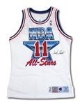 1992 ISIAH THOMAS AUTOGRAPHED EASTERN CONFERENCE ALL-STAR GAME SIGNED WORN JERSEY (NBA LOA SIGNED BY DAVID STERN)