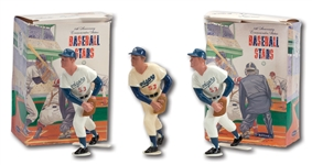 1958-62 DON DRYSDALE ORIGINAL HARTLAND STATUE AND PAIR OF 25TH ANNIVERSARY DRYSDALE HARTLAND STATUES (DRYSDALE COLLECTION)