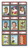 1967 TOPPS BASEBALL HIGH GRADE COMPLETE SET OF 609