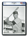 10/6/1952 MICKEY MANTLE ORIGINAL PSA/DNA TYPE 1 PHOTOGRAPH TAKEN BY DON WINGFIELD BEFORE WORLD SERIES GAME 6 (HILLERICH & BRADSBY LOA)