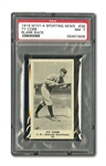 1916 M101-4 SPORTING NEWS (BLANK BACK) #38 TY COBB NM PSA 7
