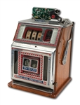 "1927 MILLS NOVELTY COMPANY ""PLAY BALL"" BASEBALL THEMED SLOT MACHINE ARCADE GAME"