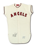 1964 ALBIE PEARSON LOS ANGELES ANGELS GAME WORN HOME JERSEY (DELBERT MICKEL COLLECTION)