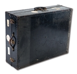 WALTER ALSTONS PERSONAL BROOKLYN/LOS ANGELES DODGERS TRAVEL TRUNK (ALSTON COLLECTION)