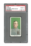 1909-11 T206 TY COBB (GREEN PORTRAIT) PSA GOOD 2 - EXCELLENT EYE APPEAL FOR GRADE