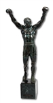 "ROCKY BALBOA 35"" TALL BRONZE STATUE REPLICATING THE ORIGINAL 12-FT. SCULPTURE BY A. THOMAS SCHOMBERG (SDHOC COLLECTION)"
