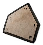 ORIGINAL HOME PLATE FROM LANE FIELD, HOME OF PCL SAN DIEGO 1936-57 (SDHOC COLLECTION)