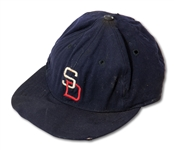C.1956 SAN DIEGO PADRES (PCL) GAME WORN CAP (SDHOC COLLECTION)