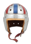 "1940 AMBROSE ""AMBY"" SCHINDLER (USC) COLLEGE ALL-STAR GAME (VS. GREEN BAY PACKERS) WORN SPALDING HELMET (SDHOC COLLECTION)"
