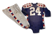 "1940 AMBROSE ""AMBY"" SCHINDLER (USC) COLLEGE ALL-STAR GAME (VS. GREEN BAY PACKERS) WORN UNIFORM (SDHOC COLLECTION)"