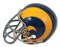 C.1978 FRED DRYER LOS ANGELES RAMS GAME WORN HELMET (PHOTO-MATCHED, SDHOC COLLECTION)