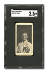 1910 D380 CLEMENT BROS. BREAD HAL CHASE – SGC GD+ 2 (ONE OF TWO EVER GRADED)