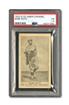 "1922 E122 AMERICAN CARAMEL ""SERIES OF 80"" BABE RUTH PSA FR 1.5"